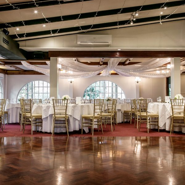 Best wedding reception room