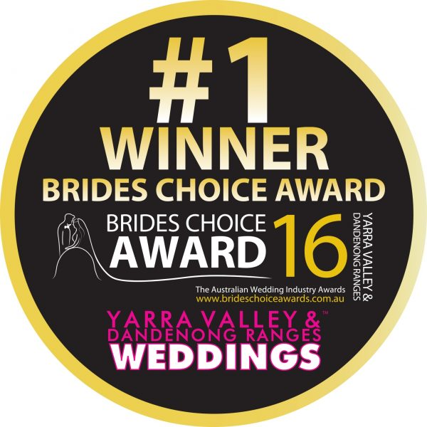 Yarra Valley Brides Choice Award WINNER Logo 16